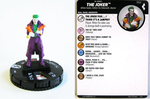 Heroclix - #002 The Joker - Harley Quinn and the Gotham Girls