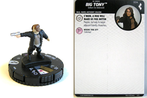 Heroclix - #004 Big Tony - Harley Quinn and the Gotham Girls
