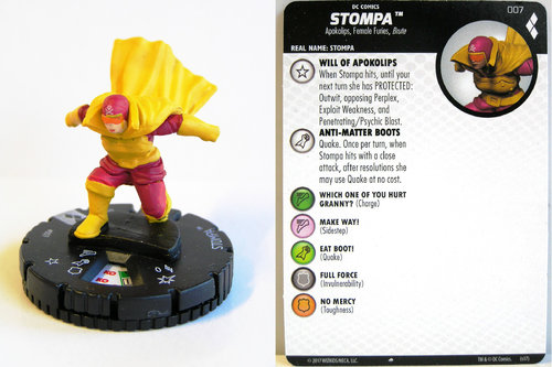 Heroclix - #007 Stompa - Harley Quinn and the Gotham Girls