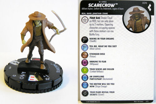 Heroclix - #009 Scarecrow - Harley Quinn and the Gotham Girls