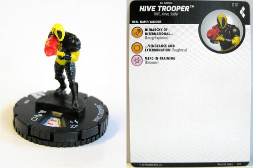 Heroclix - #010 HIVE Trooper - Harley Quinn and the Gotham Girls