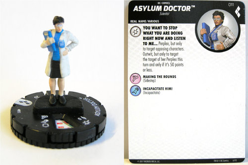 Heroclix - #011 Asylum Doctor - Harley Quinn and the Gotham Girls