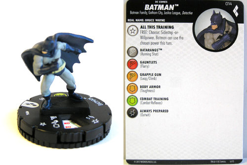 Heroclix - #014 Batman - Harley Quinn and the Gotham Girls