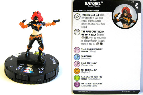 Heroclix - #015 Batgirl - Harley Quinn and the Gotham Girls