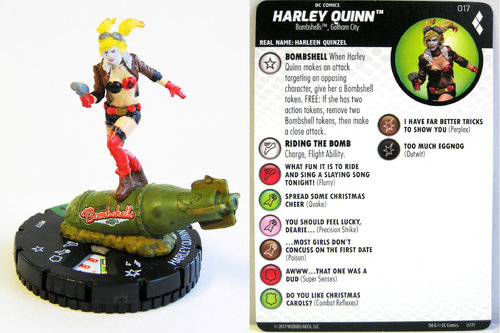Heroclix - #017 Harley Quinn - Harley Quinn and the Gotham Girls
