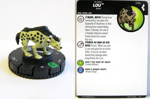 Heroclix - #019b Lou - Harley Quinn and the Gotham Girls