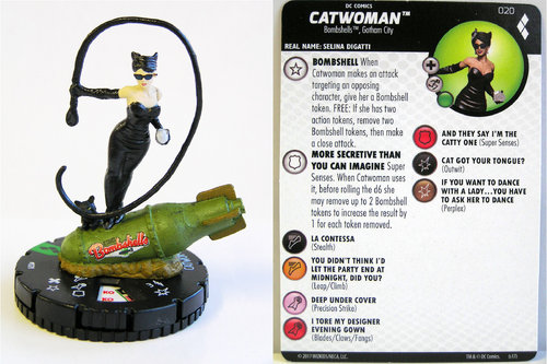 Heroclix - #020 Catwoman - Harley Quinn and the Gotham Girls