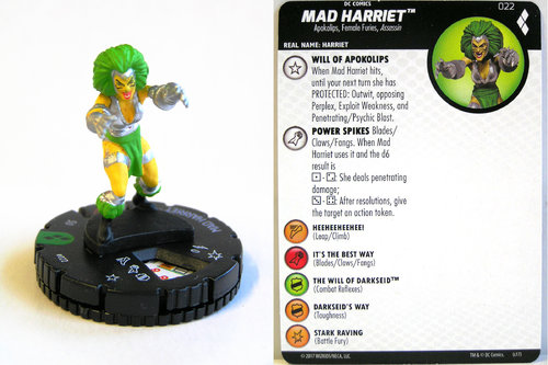 Heroclix - #022 Mad Harriet - Harley Quinn and the Gotham Girls