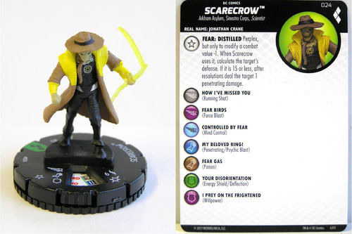 Heroclix - #024 Scarecrow - Harley Quinn and the Gotham Girls