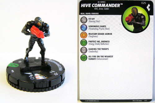 Heroclix - #025 HIVE Commander - Harley Quinn and the Gotham Girls