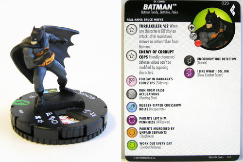 Heroclix - #029 Batman - Harley Quinn and the Gotham Girls