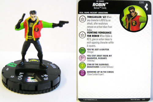 Heroclix - #030 Robin - Harley Quinn and the Gotham Girls