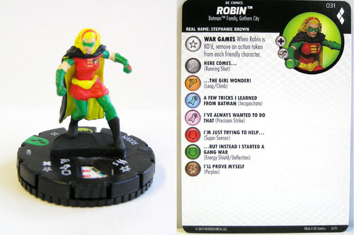 Heroclix - #031 Robin - Harley Quinn and the Gotham Girls