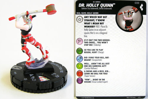 Heroclix - #033 Dr. Holly Quinn - Harley Quinn and the Gotham Girls