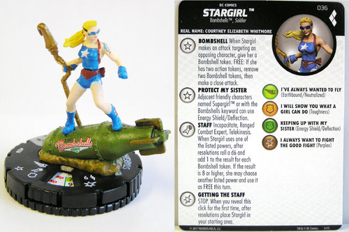 Heroclix - #036 Stargirl - Harley Quinn and the Gotham Girls