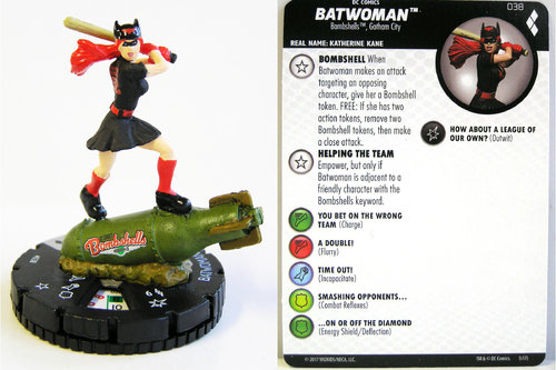 Heroclix - #038 Batwoman - Harley Quinn and the Gotham Girls