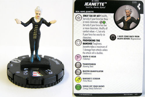 Heroclix - #039 Jeanette - Harley Quinn and the Gotham Girls