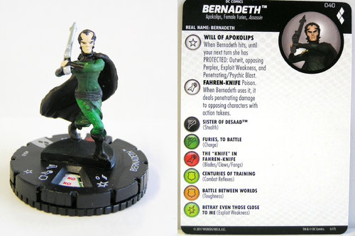 Heroclix - #040 Bernadeth - Harley Quinn and the Gotham Girls