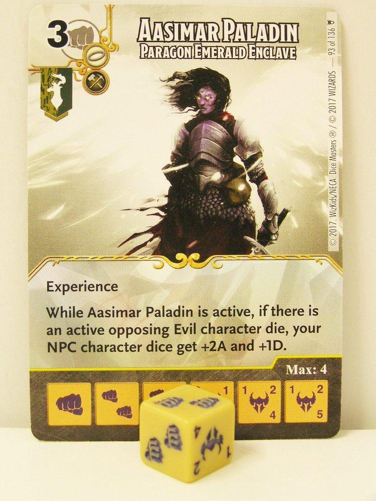 Faerun Under Siege ~ HUMAN FIGHTER Paragon Zhentarim #123 rare D/&D Dice Masters