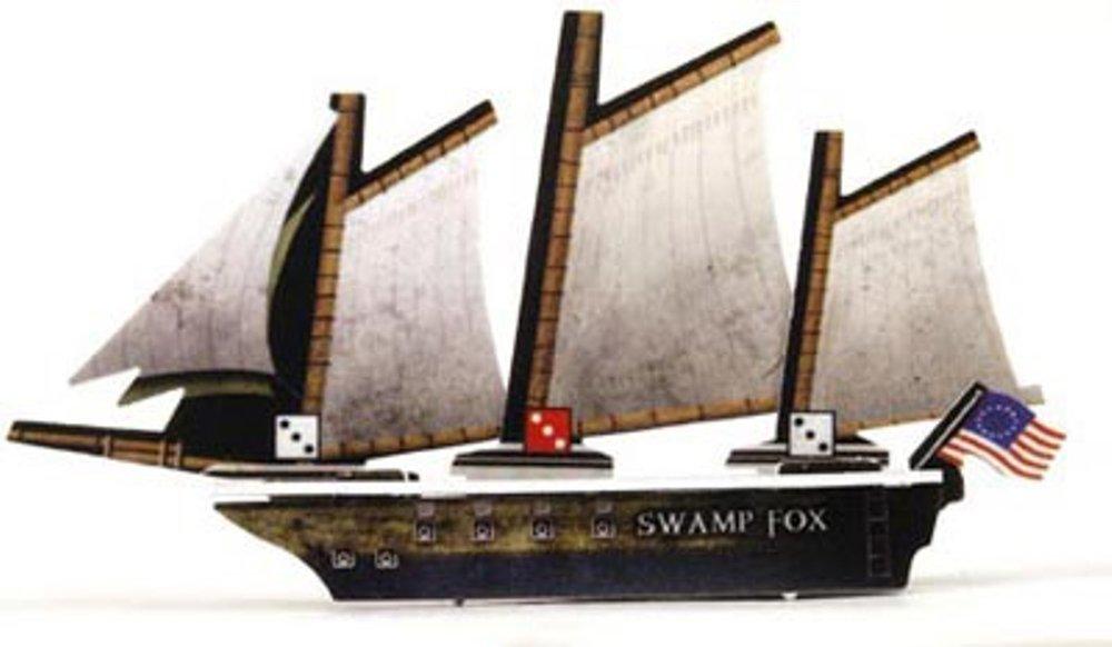 094 SWAMP FOX PIRATES OF DAVY JONES CURSE