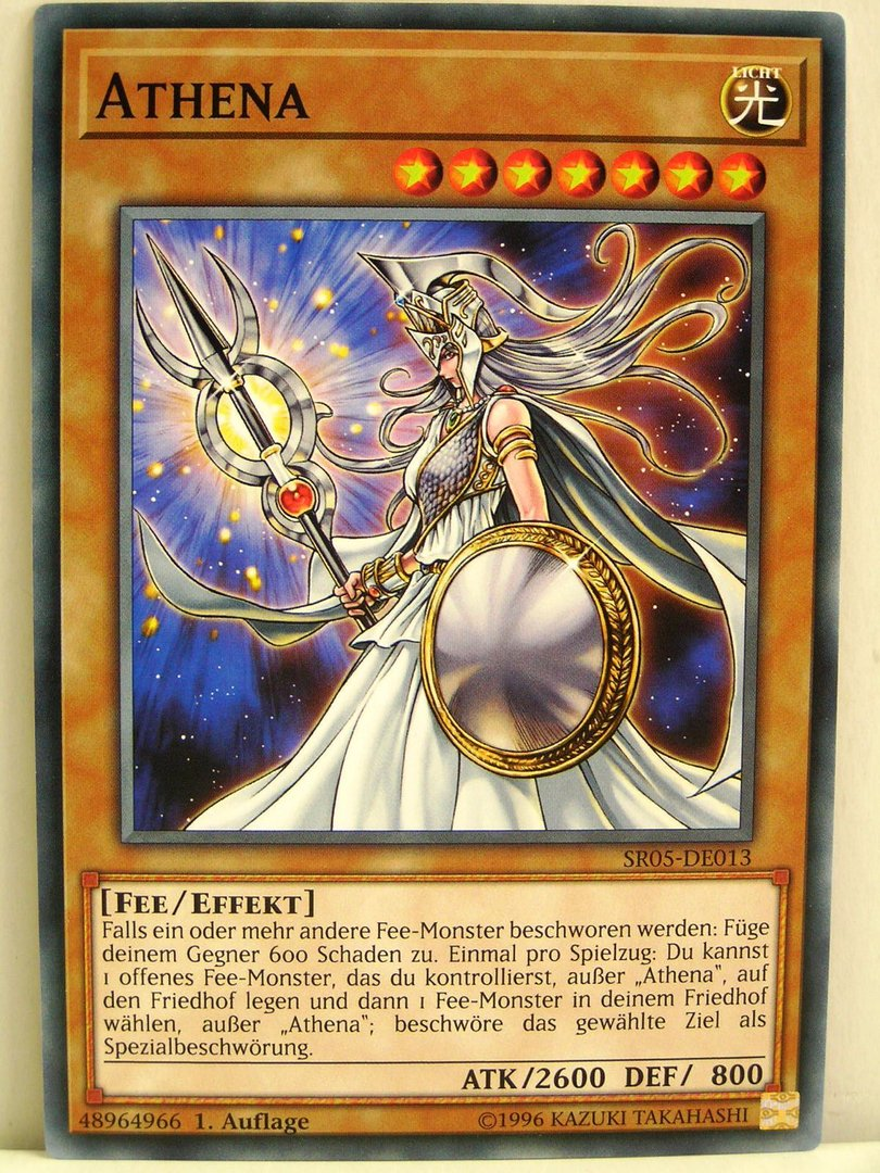 Yugioh 013 athena sr05 wave of light structure deck yugioh 013 athena sr05 wave of light structure deck mozeypictures Images