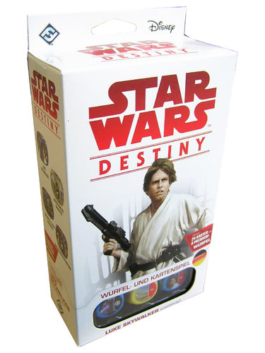 Star Wars Destiny - Vermächtnisse Luke Skywalker Starter-Set