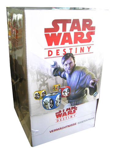 Star Wars Destiny - Vermächtnisse Booster-Pack Display deutsch
