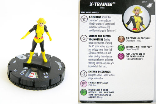 Heroclix - #005 X-Trainee - X-Men Xavier's School