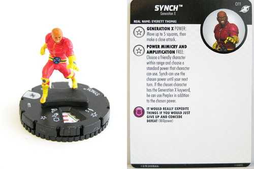 Heroclix - #011 Synch - X-Men Xavier's School