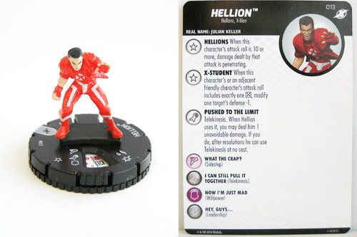 Heroclix - #013 Hellion - X-Men Xavier's School