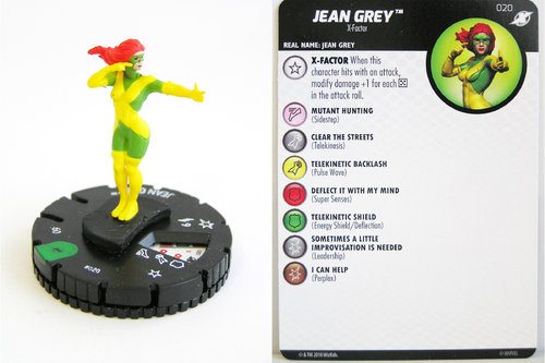 Heroclix - #020 Jean Grey - X-Men Xavier's School