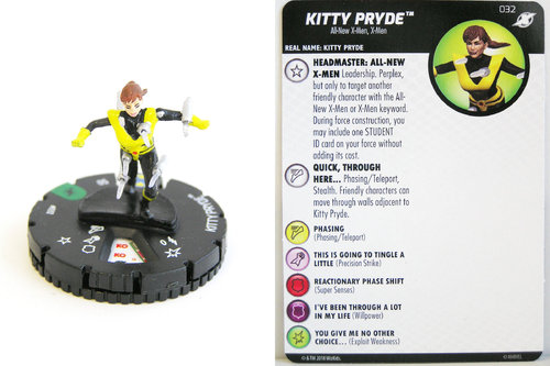 Heroclix - #032 Kitty Pryde - X-Men Xavier's School