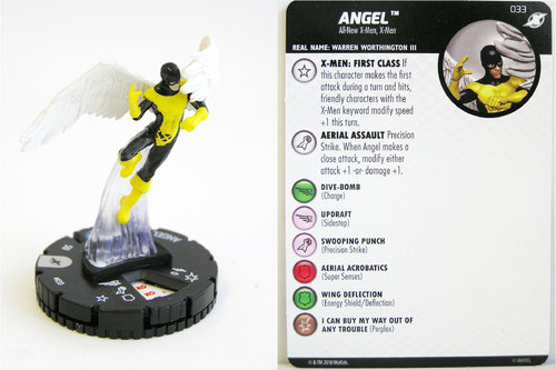 Heroclix - #033 Angel - X-Men Xavier's School