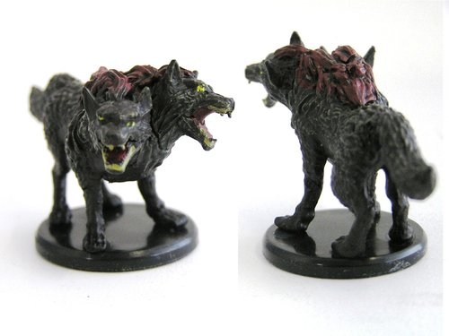 D&D - #009 Death Dog - Monster Menagerie 3