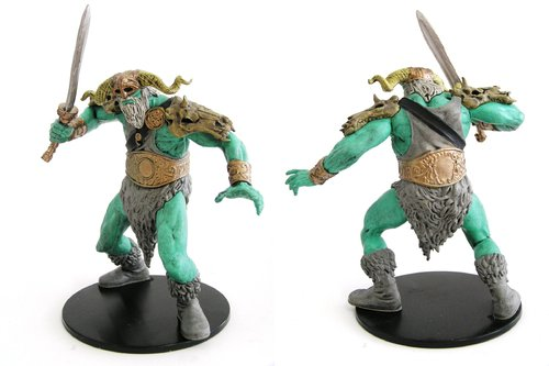 D&D - #032 Frost Giant (Sword) Large Figure - Monster Menagerie 3