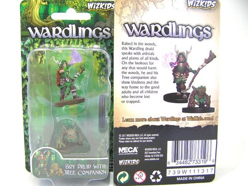 WZK73319 - Wizkids Wardlings Wave 1 - Boy Druid & Tree Creature