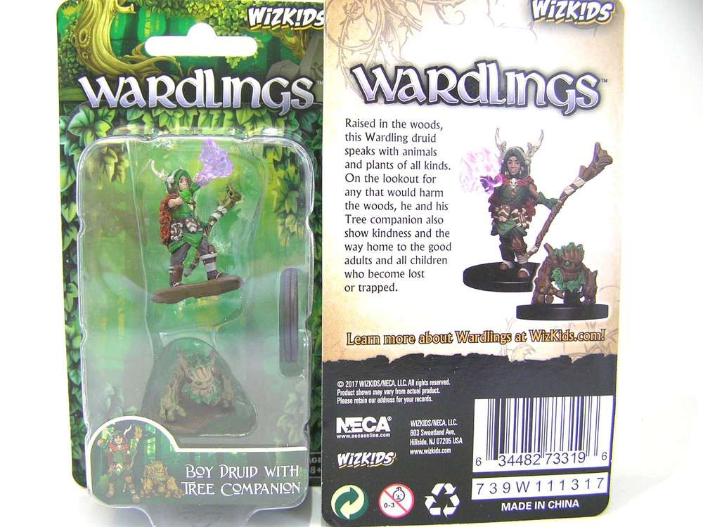 Wizkids Wardlings Boy Ranger D/&D Pathfinder Battles