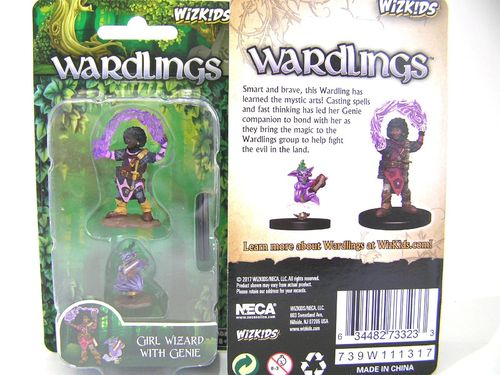 WZK73323 - Wizkids Wardlings Wave 1 - Girl Wizard & Genie