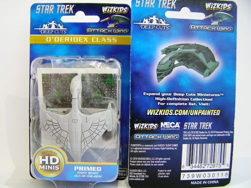 WZK72975 - Star Trek Attack Wing - D'deridex Class - Deep Cuts Unpainted Miniatures