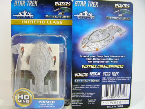 WZK72971 - Star Trek Attack Wing - Intrepid Class - Deep Cuts Unpainted Miniatures