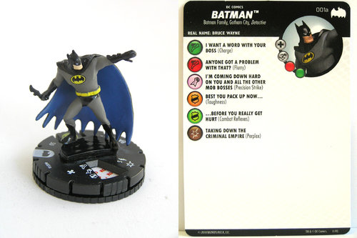 Heroclix - #001a Batman - DC Batman the Animated Series