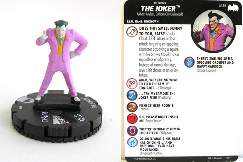 Heroclix - #003 The Joker - DC Batman the Animated Series
