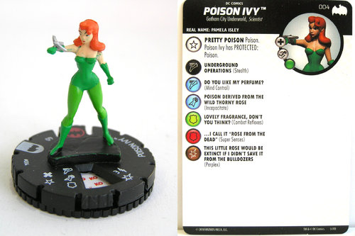 Heroclix - #004 Poison Ivy - DC Batman the Animated Series