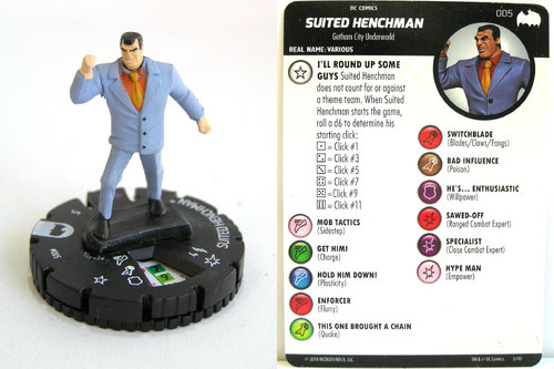 Heroclix - #005 Suited Henchmen - DC Batman the Animated Series
