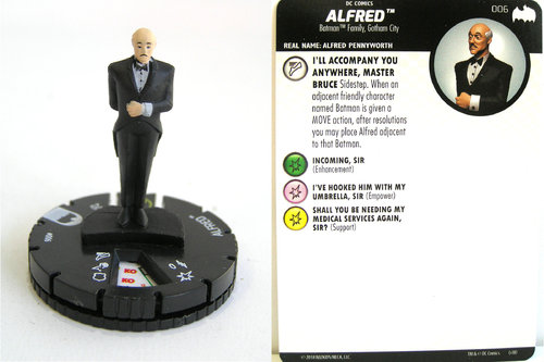 Heroclix - #006 Alfred - DC Batman the Animated Series