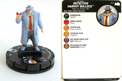 Heroclix - #012 Harvey Bullock - DC Batman the Animated Series