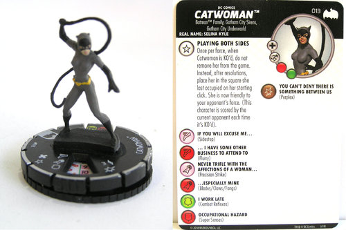 Heroclix - #013 Catwoman - DC Batman the Animated Series