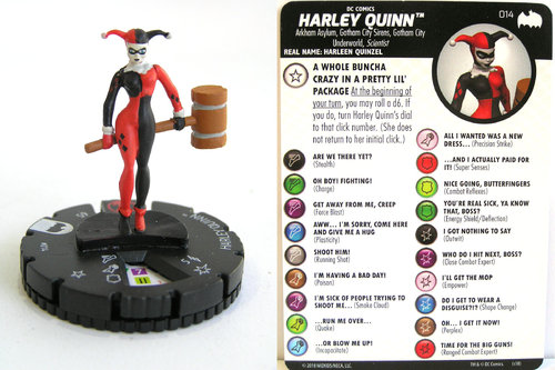 Heroclix - #014 Harley Quinn - DC Batman the Animated Series