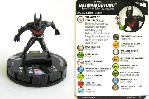 Heroclix - #016 Batman Beyond - DC Batman the Animated Series