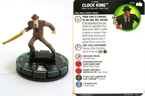 Heroclix - #017b Clock King - DC Batman the Animated Series